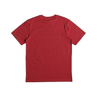 T-shirt à manches courtes DC Four Base en rouge tango