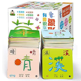 Chinese Characters Pictographic Flash Card, Old Babies/toddlers/children