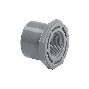 "Lasco 838-168 1.25""SPG x 1""FPT Schedule 80 PVC Reducer Bushing 838-16"