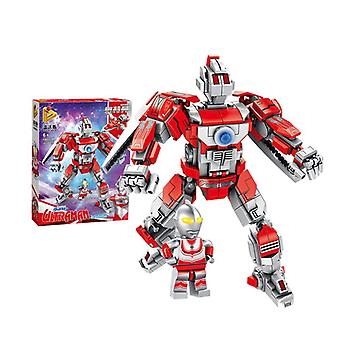 Building Block Small Particles Assembling Intelligent Robot Toy