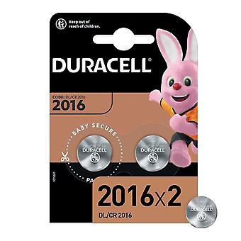 Duracell Specialized Lithium CR2016N batteries, 2 pcs