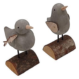 Standing Stone Bird Decoration (One Random Supplied) by Heaven Sends