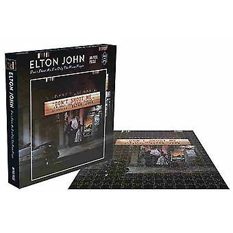 Rock Saws Elton John Puzzle (500pcs)