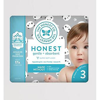 The Honest Company Diapers Size 3 - Pandas, 27 Count