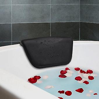 Spa Bath Pillow Pu Bath Cushion With Suction Cups For Relaxing Head Neck Back