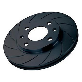 Disques de frein Diamant Noir KBD1144G12 Solide Arrière 12 Rayures