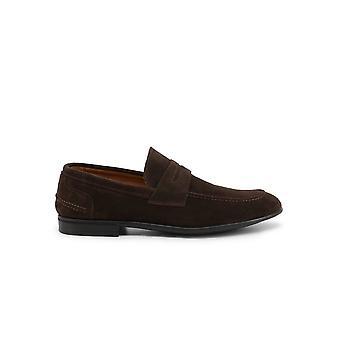 Duca di Morrone - Shoes - Moccasins - LEONE-CAM-TDM - Men - saddlebrown - EU 44