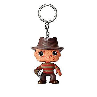 Figure On Elm Street Model Keychain Key Ring Pendant Kruger Pendant