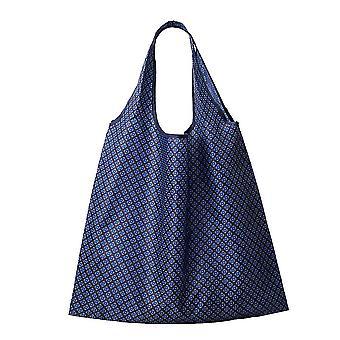 Faltbare Einkaufstasche Polyester wiederverwendbare Lebensmittel Einkaufstasche Schultertasche gedruckt