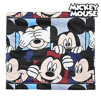 Sombrero, guantes y calentador de cuello Mickey Mouse 74325 azul marino (3 Pcs)