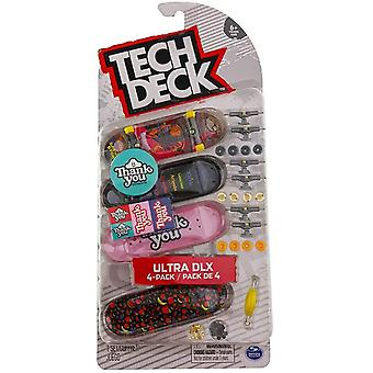Tech Deck Ultra DLX 4 pack Thank You