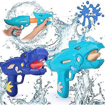 2 Pack Dinosaur Water Blaster Soaker Pistolet pour enfants Extérieur Squirt Gun