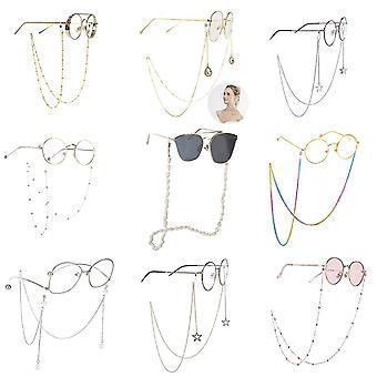 Eyewear straps chains eyeglass strap reading glasses hanging chain fashion sunglasses