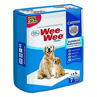 "Four Paws Wee Wee Pads Original - 7 Pack (22"" Lang x 23"" Breed)"