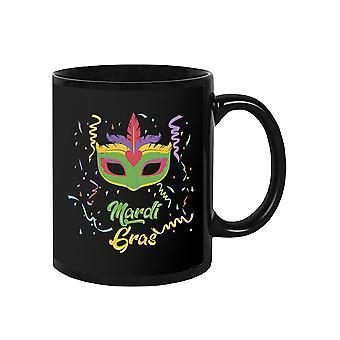 Mardi Gras Mask Mug -SPIdeals Designs