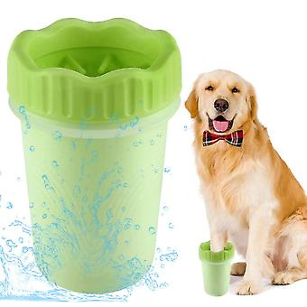 Pet Supplies Dog Foot Washing Cup, Soft And Comfortable, Deep Cleaning, Easy To Disassemble And Wash (b)