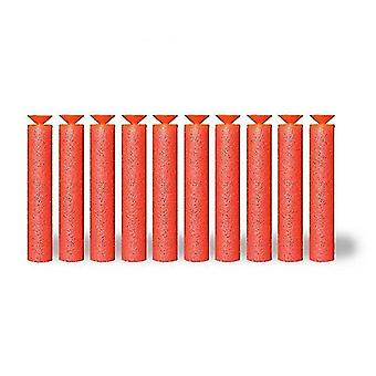 Hračky zbraně gadgets 50 kus sada 7.2Cm eva měkké kulky pro nerf zbraně 50ks červený přísavka