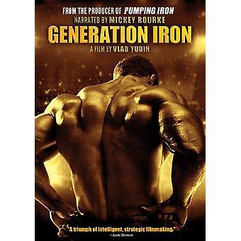 Importation de génération USA de fer [DVD]
