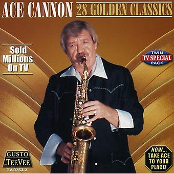 Ace Cannon - 28 Golden Classics [CD] USA import