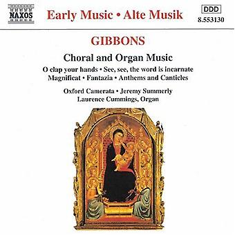 O. Gibbons - Gibbons: Choral and Organ Music [CD] USA import