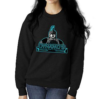 Dynamos Electronic Shop and Voice Lessons Running Man Women's Sweatshirt
