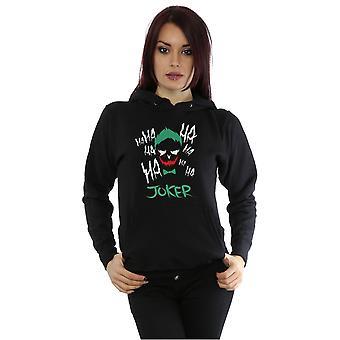 Suicide Squad kvinnors Joker ikonen Hoodie