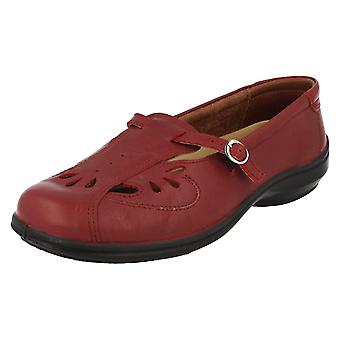 Ladies Easy B Flat Shoes Winchcombe