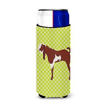Jamnapari Goat Green Michelob Ultra Hugger for slim cans