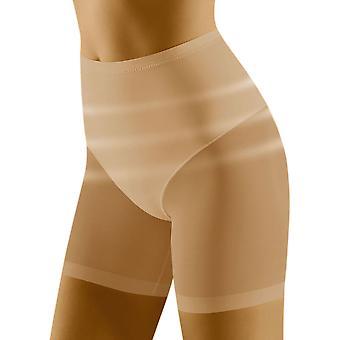 Wolbar Women's Relaxa Beige Shaping High Waist Long Leg Brief