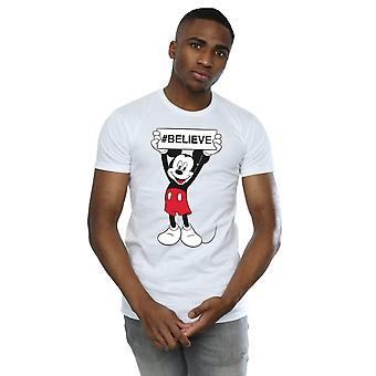 Disney Mickey MouseBelieve T-Shirt homme