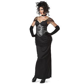 فيكتوريا فامبيريس القوطية Vampira مصاصى الدماء هالوين أزياء المرأة
