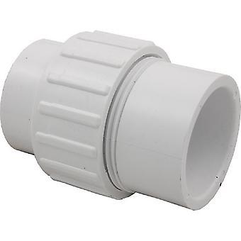 """Magic Plastics 0650-15 2"""" Spigot 1.5"""" Slip Union Fitting"""