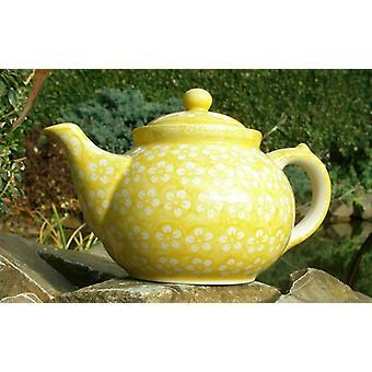 ceainicul, a doua alegere, 1200 ml, galben Bunzlau, BSN m-4359