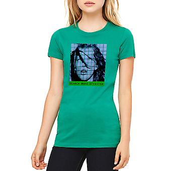 The Fifth Element Search Mode Women's Kelly Green T-shirt