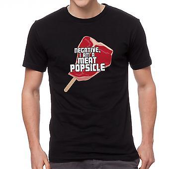 The Fifth Element Meat Popsicle Men's Black T-shirt