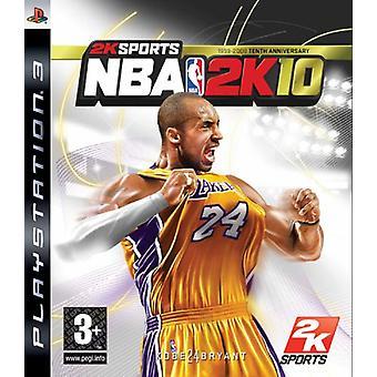 NBA 2K10 (PS3) - Uusi