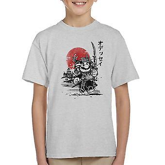 Koszulka dziecięca Mario samuraj