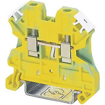 Phoenix kontakt UT 6-PE 3044157 Tripleport PG terminalnummer pins: 2 0,2 mm² 10 mm² grønn-gul 1 eller flere PCer