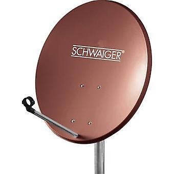 Schwaiger SPI550.2 Satellite Dish, , Brick red