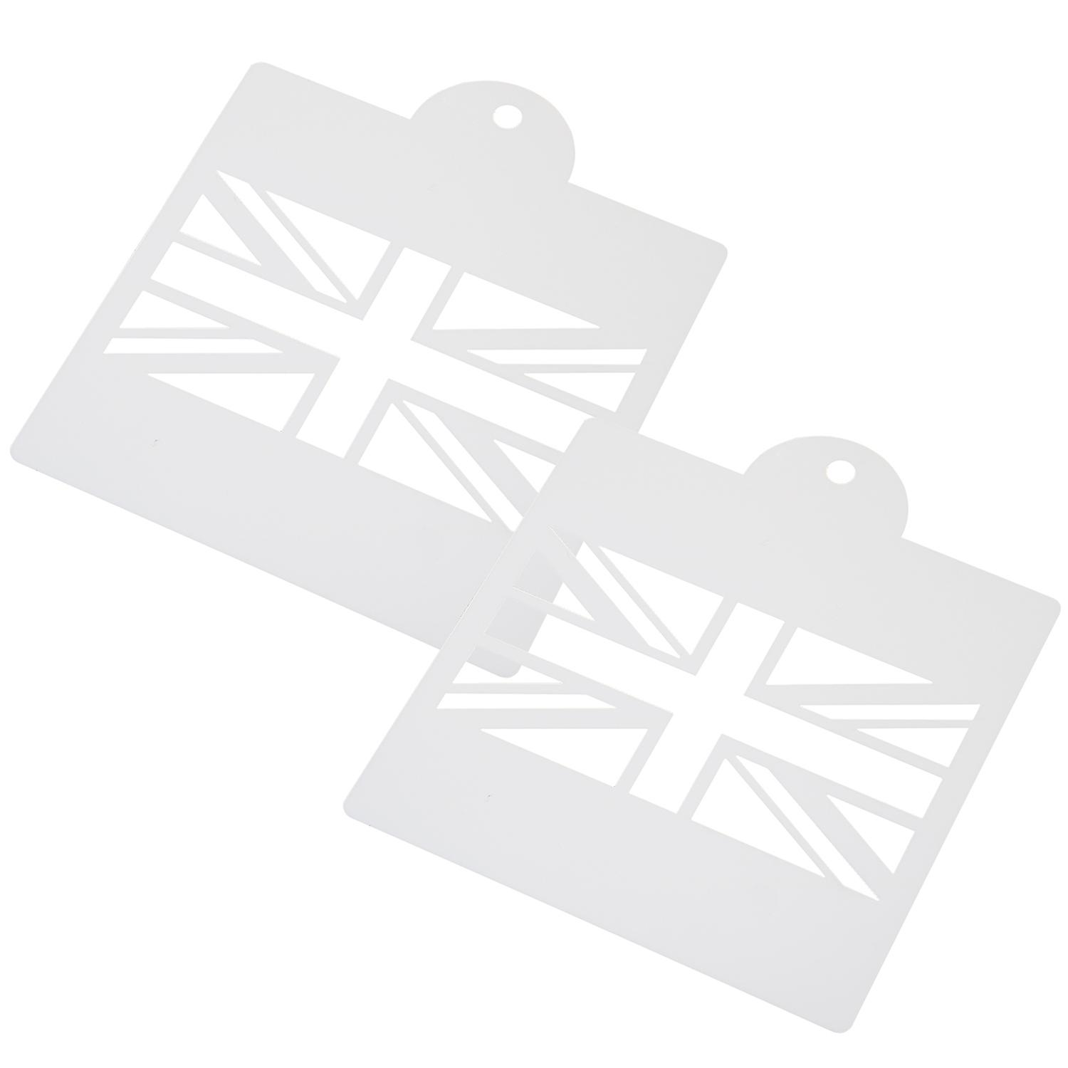 Union Jack Drawing Stencil Templates for Scrapbooking Card Making TRIXES