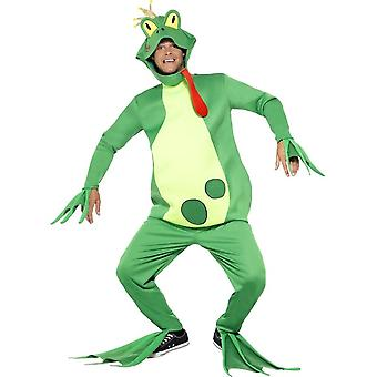Frog Prince kostým, top s pripojenými rukavicami, jedna veľkosť