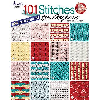 101 Stitches for Afghans by Jean Leinhauser - Annie's - 9781590122778