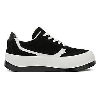 TOWER London Hoxton Womens Black / White Trainers