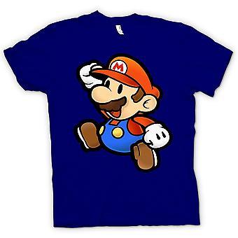 Camiseta de crianças - Super Mario - Gamer