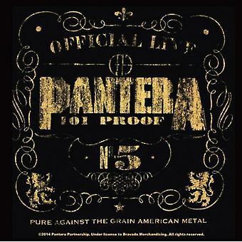 Pantera Coaster 101 bevis band nye officielle 9,5 cm x 9,5 cm enkelt cork