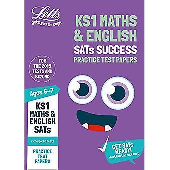 Ks1 Maths et anglais SATs pratique des épreuves: tests de 2019 (Letts KS1 SATs succès) (Letts KS1 SATs succès)
