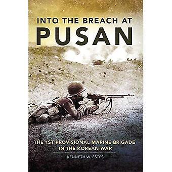 In på Pusan: 1st provisoriska Marina brigaden i Koreakriget
