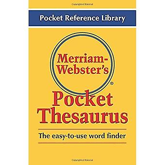 Merriam Webster's Pocket Thesaurus (Pocket Reference Library)