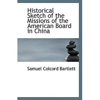 Esquisse historique des Missions de l'American Board en Chine