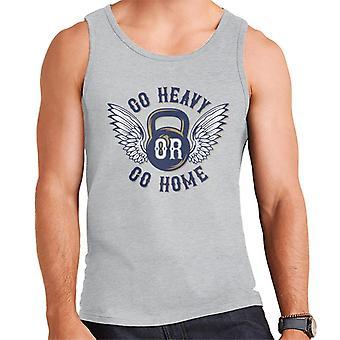 Ga zwaar of Home Kettlebell mannen Vest